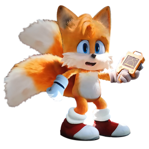 Sonic Movie - Tails with Radar