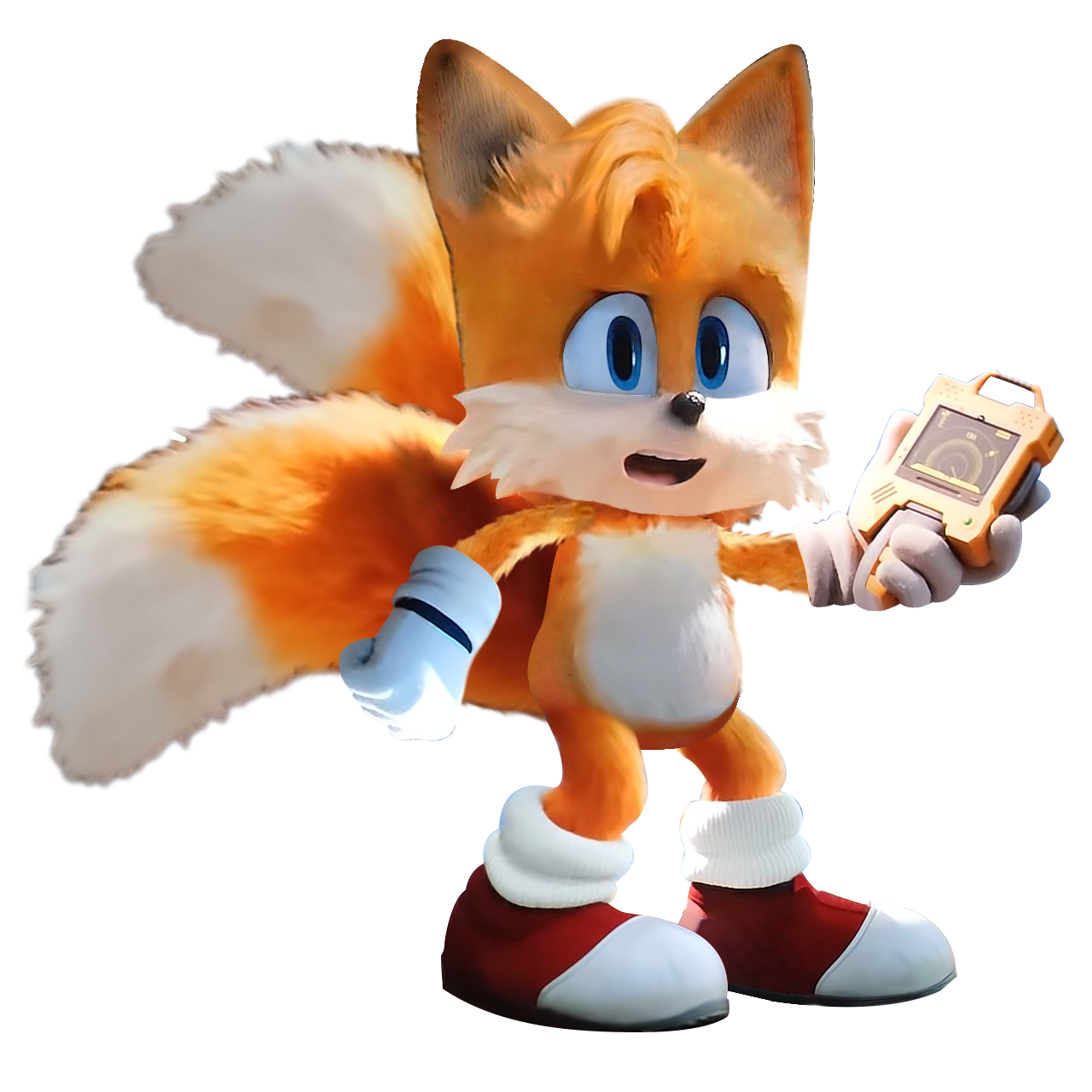 Sonic Movie Tails With Radar By Soniconbox On Deviantart