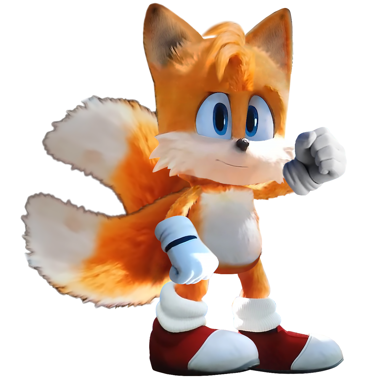 sonic the hedgehog movie tails drawing