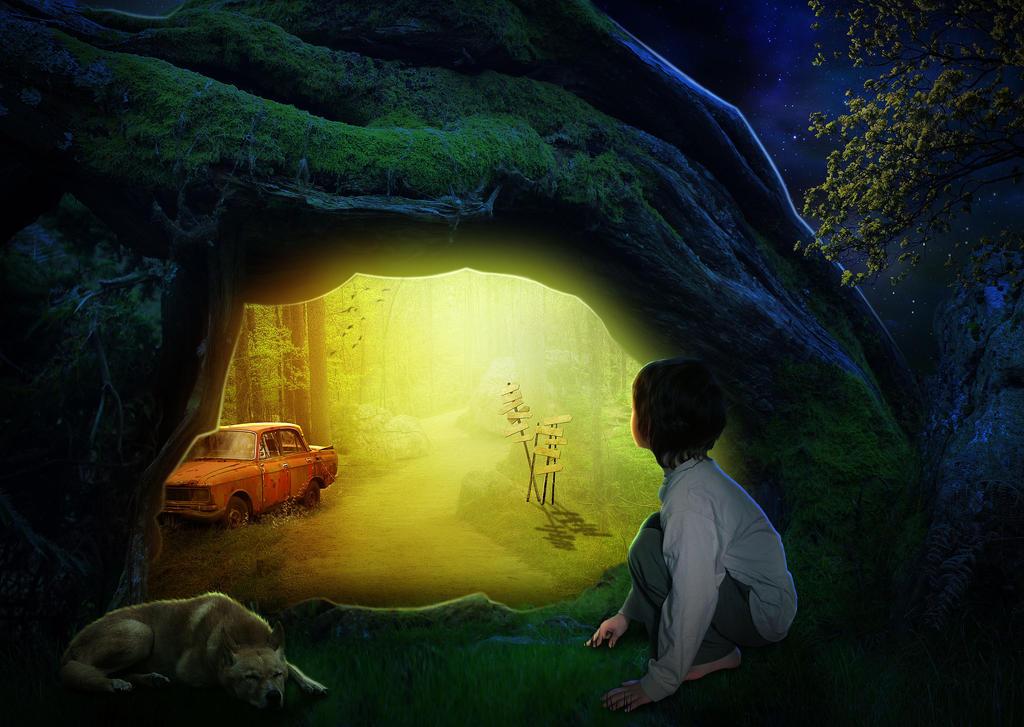 The Hidden Road by nandhinibundy