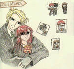 Ginny and Draco