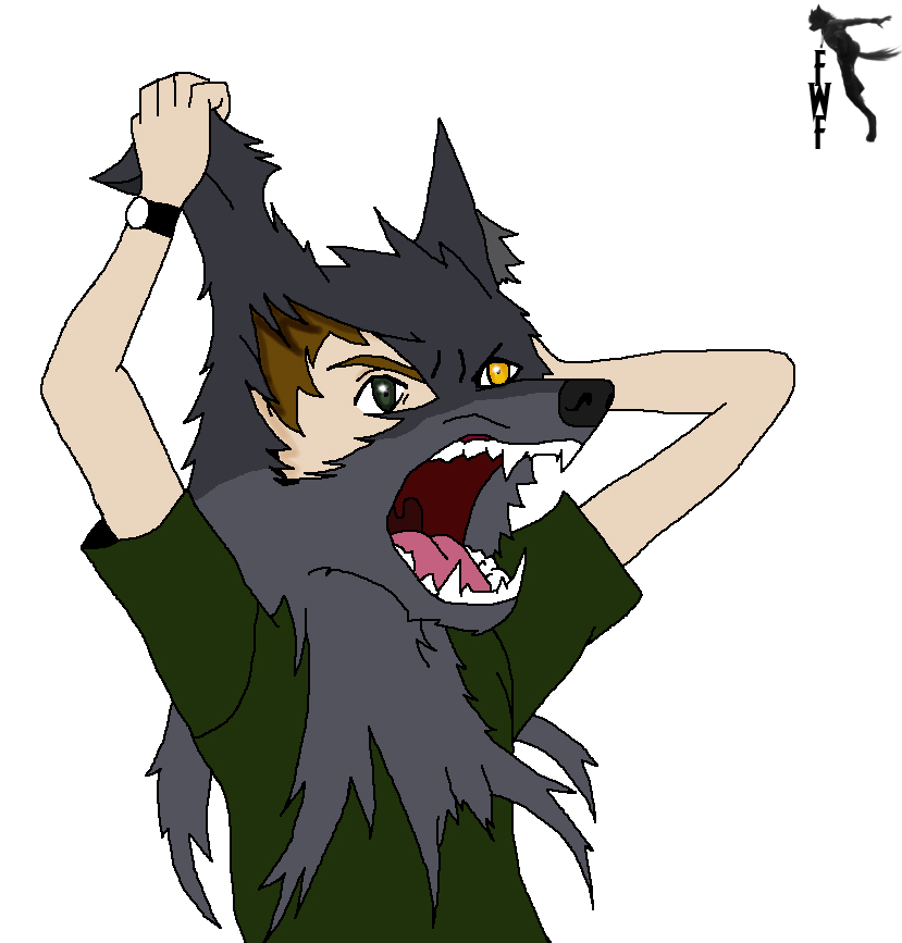Werewolf Mask Tf By Fighting Wolf Fist On Deviantart