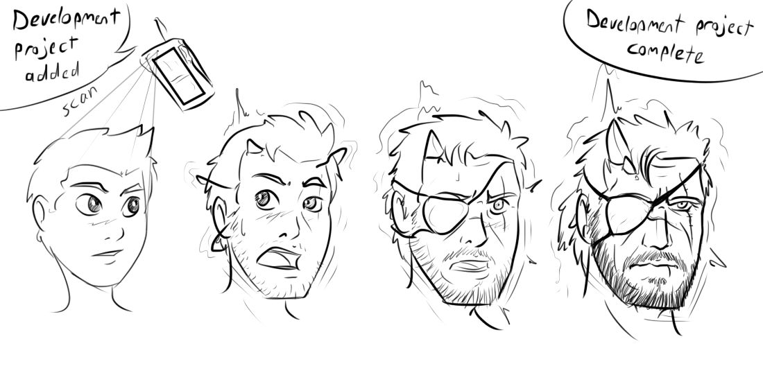 V Has Come To (Venom Snake face TF sequence) by Fighting