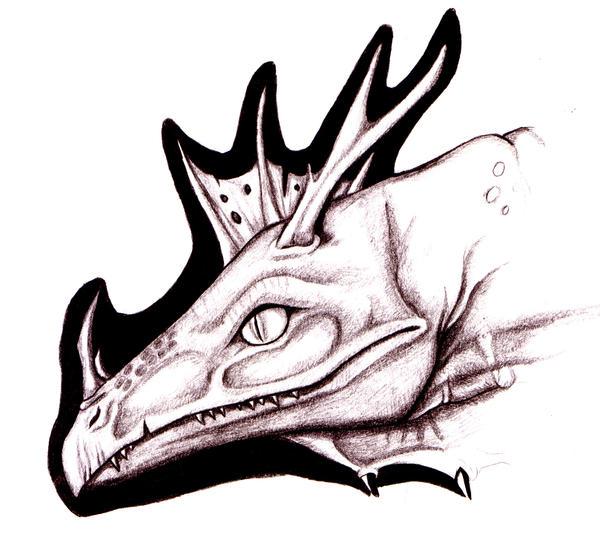 Dragonhead sketch by Raptor85
