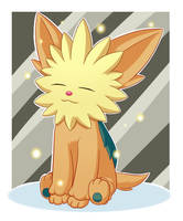 .:Pkmn:. Shiny Series #9 - Lillipup by Fire-For-Battle