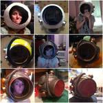 Bioshock - Big Sister Helmet Progression