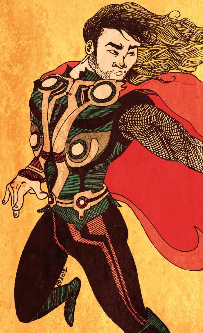 Edo Thor by CayleyAlaina