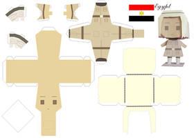 Hetalia - Egypt Paperdoll by arcelian