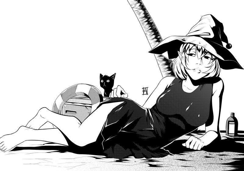 Mage in Beach by heitormorrie