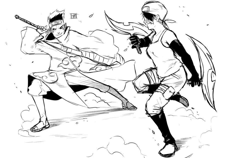 Charming Battle by HAmatsu