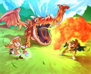 Fantasy Fight by HAmatsu