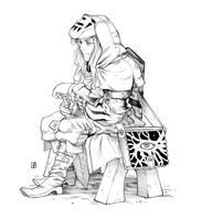 Arcane Swordsman by HAmatsu
