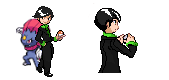 Pro Trainer Elliot Sprite v2.0 by Dreamaniacal
