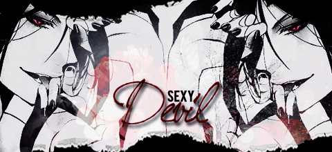 [!Signature] ~Sebastian Michaelis - Sexy Devil by amuletdream1