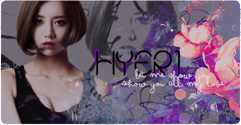 [!Signature] ~Hyeri - Show You by amuletdream1