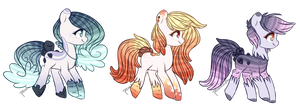Waterfaller Adopts Batch 2[CLOSED] by peaceouttopizza23