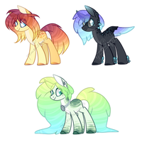 Water Pone Adopts [CLOSED] by peaceouttopizza23