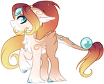 Lustrous Pony Adopt #1 - Sunset [CLOSED]