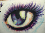 graffiti: eye