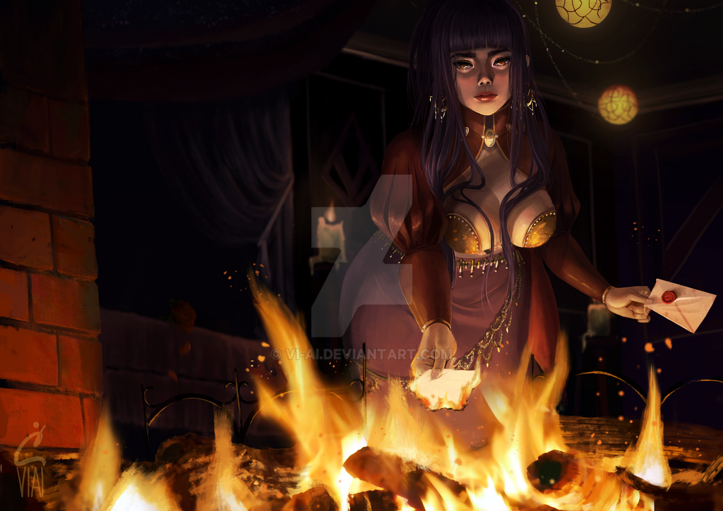 Burn The Letter by vi-ai