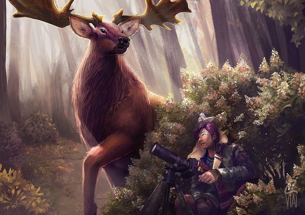 Irish Elk by vi-ai