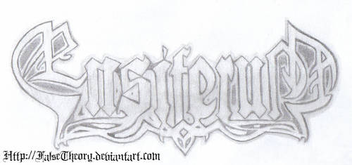 Ensiferum logo by FalseTheory