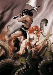 Conan and Red Sonja
