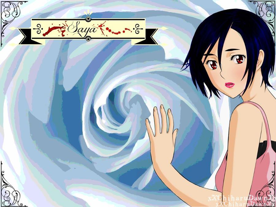.:Saya::Wallpaper:. by xXChiharuDawnXx