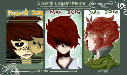 Improvement Meme | 2 years