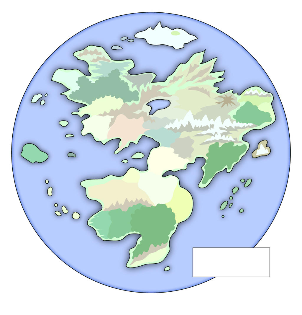 Fantasy World Map Unlabeled By EotBeholder On DeviantArt - Unlabeled world map