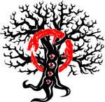 Tattoo Design: Tree and Serpent