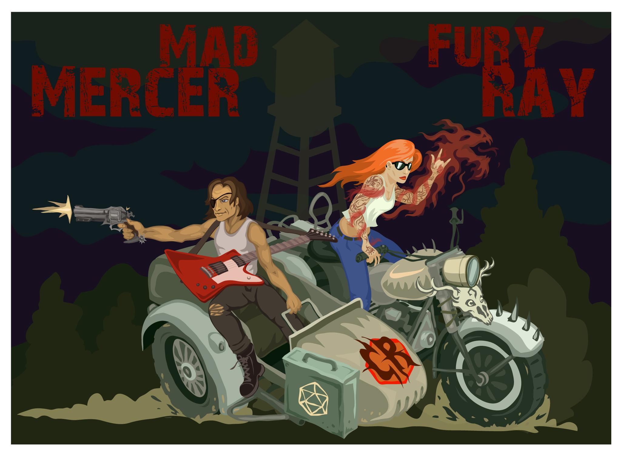 Mad Mercer: Fury Ray