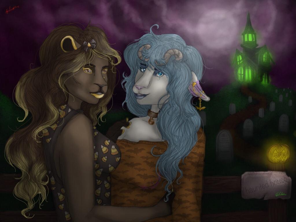 Halloween Date by JadeLoneWolfe