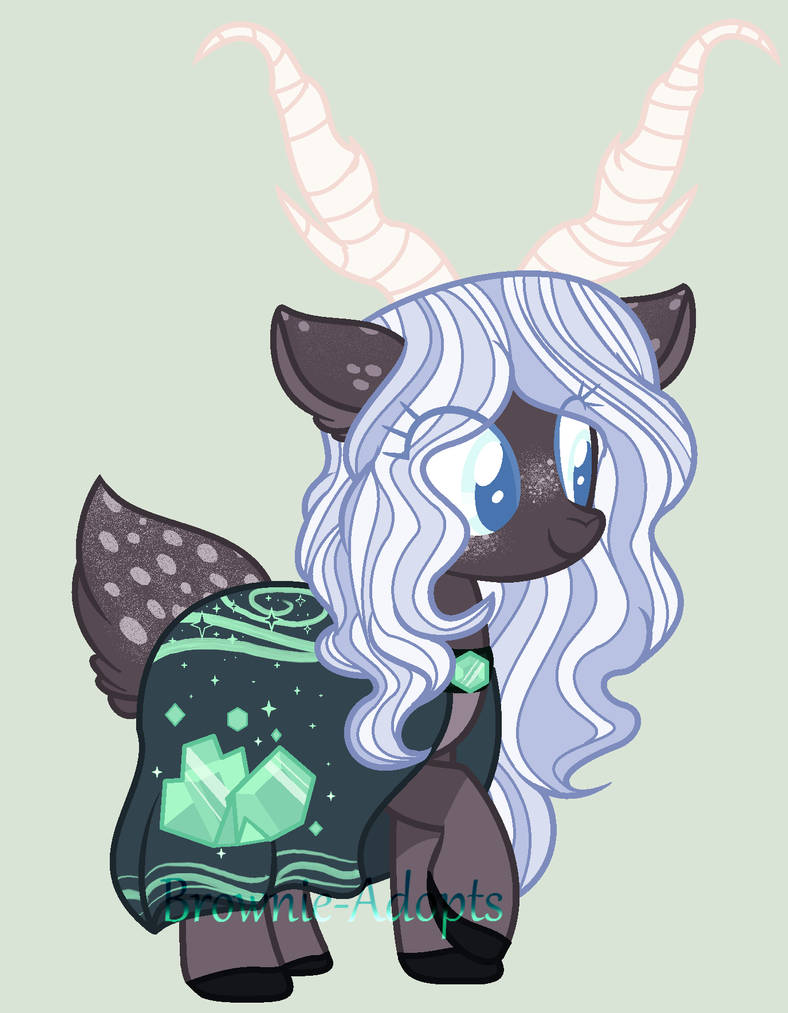 Green Witch deer - Auction OPEN by Brownie-Adopts on DeviantArt