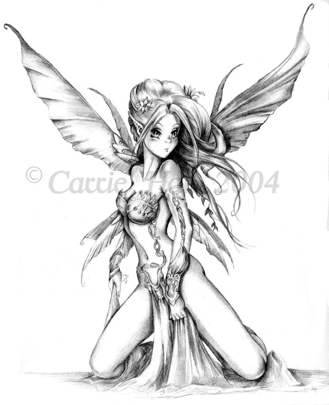 Anime fairy by Maiafay on DeviantArt