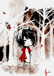 Little Red Riding Hood by pockethearts