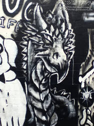 Graffiti dragon by dwiindovah