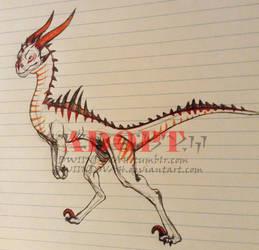 Raptor dragon adopt by dwiindovah
