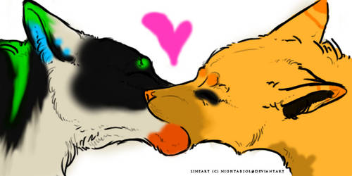 Kissy kissy Immy