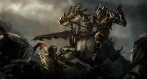 The knight by miriamrez
