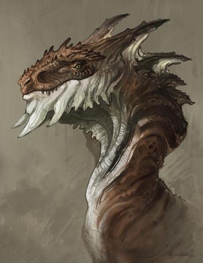 Dragon by miriamrez