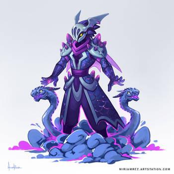 Dragon Summoner by miriamrez