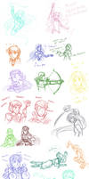 FE7 Sketch Dump