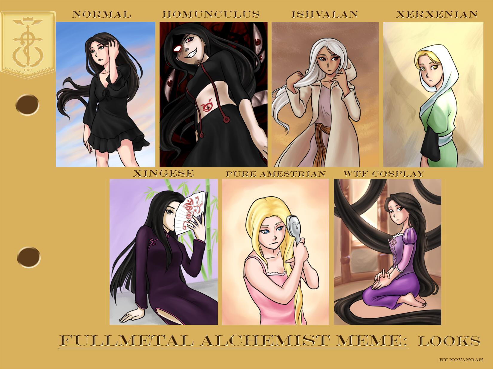 Fullmetal Alchemist Homunculus Oc Template Pictures To Pin
