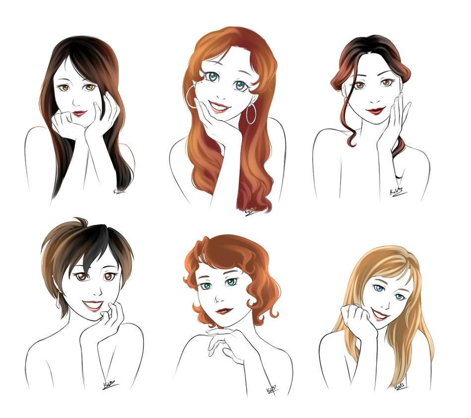 FMA OC Portraits By MarvelPoison On DeviantArt