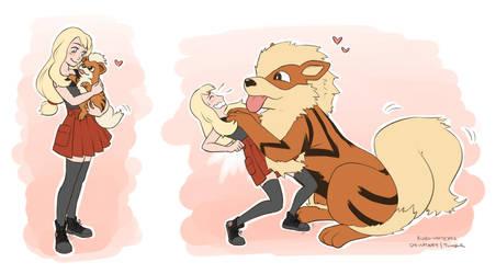 Always a Puppy by MarvelPoison