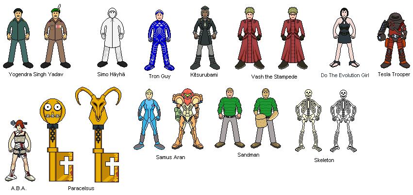 pixel art people by grandmaster j on deviantart