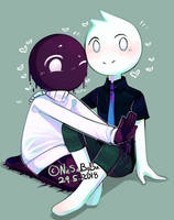 E and Jon by nasabobu