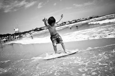 Surf in Salento. by Bluvertical