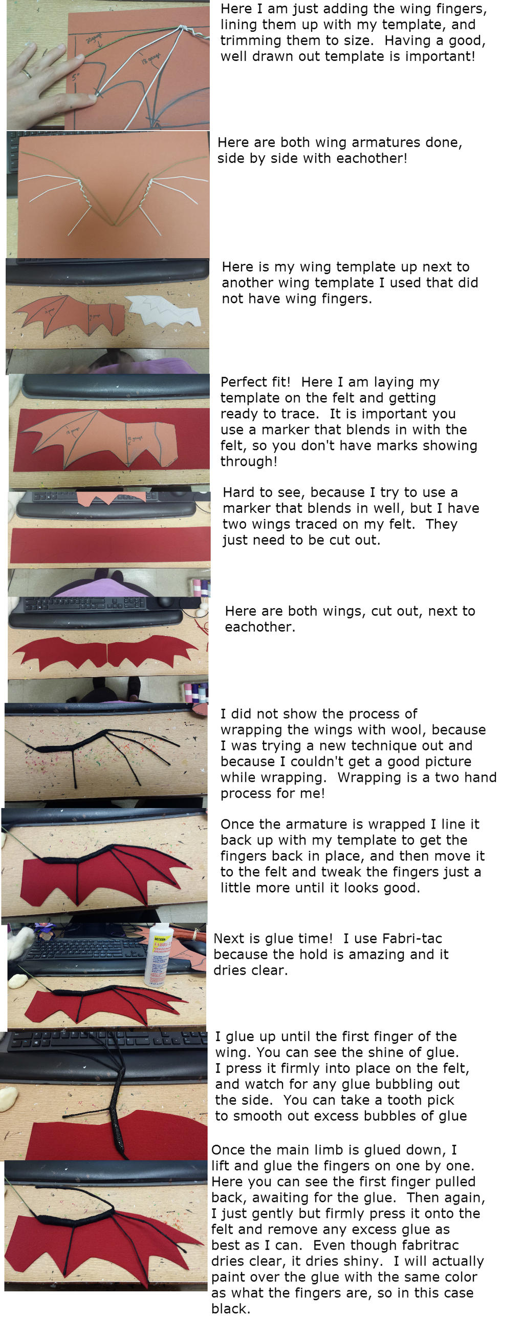 dragon wing tutorial part 2 by dreamcolored on deviantart